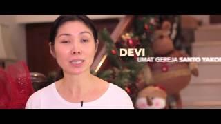 Dekorasi natal Daur Ulang 2014 Paroki Kelapa Gading Gereja Santo Yakobus