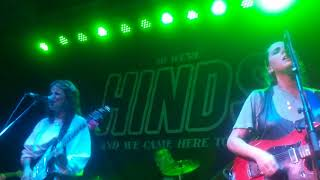 """Hinds, """"Chili Town,"""" live at The Observatory, 5/27/18"""