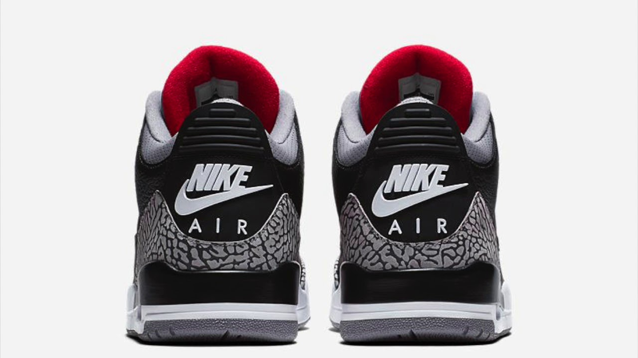 2018 NIKE AIR JORDAN 3 BLACK CEMENT TIPS & HINTS TO OBTAIN SNEAKERS ON  RELEASE DAY