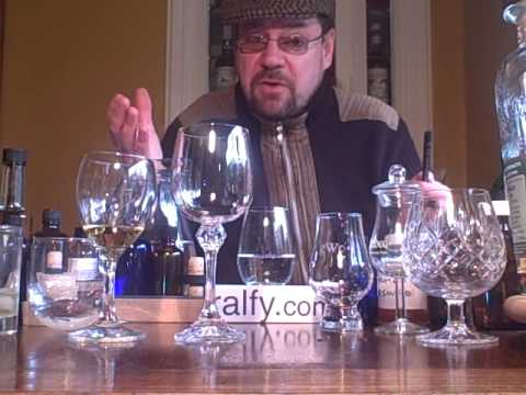 whisky review 7 - whisky glasses