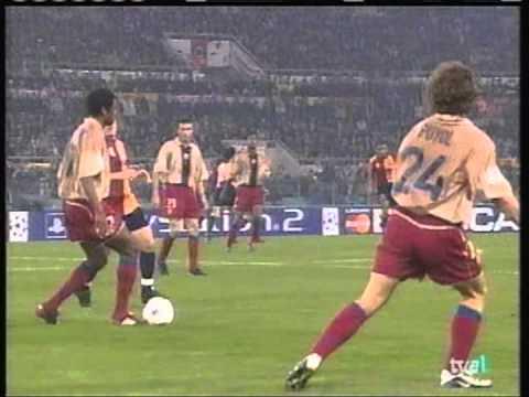 2002 February 26 AS Roma Italy 3 Barcelona Spain 0 Champions League