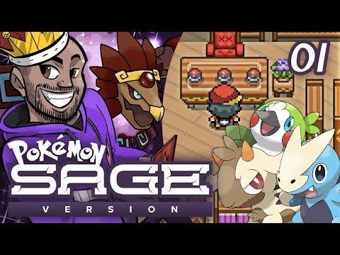 """Pokémon Sage Let's Play w/ TheKingNappy! - Ep 1 """"WHO TO CHOOSE?"""""""