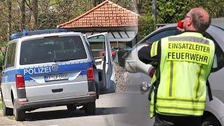 Nordhessen: Explosion in illegalem Sprengstofflabor