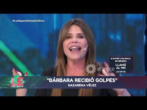 Nazarena Vélez habló del episodio que vivió Barbie con Fede Bal