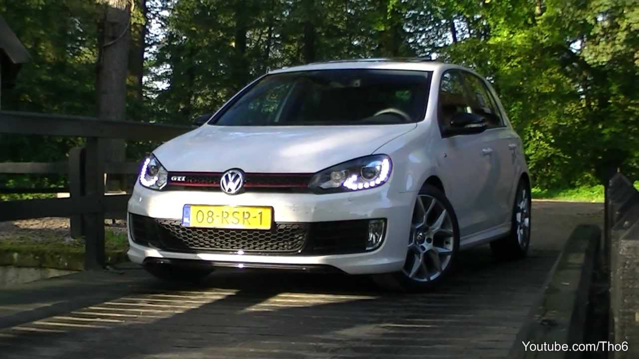 volkswagen golf 6 gti edition 35 sound accelerating. Black Bedroom Furniture Sets. Home Design Ideas