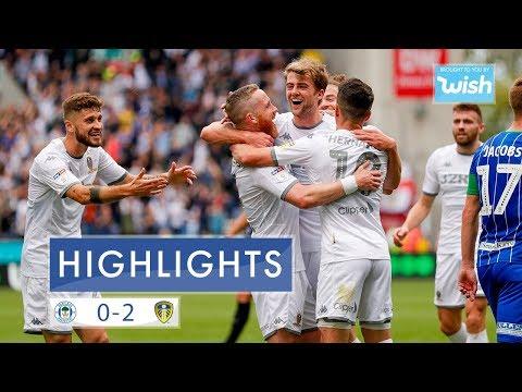 Highlights   Wigan Athletic 0-2 Leeds United   EFL Championship