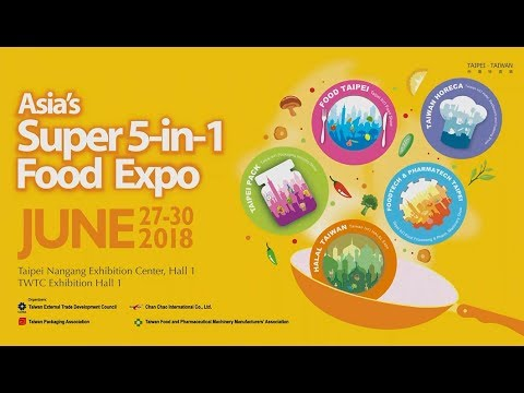 Asia's 5-in-1 Mega Food Expo Sees Perfect Ending! While eying 2018!