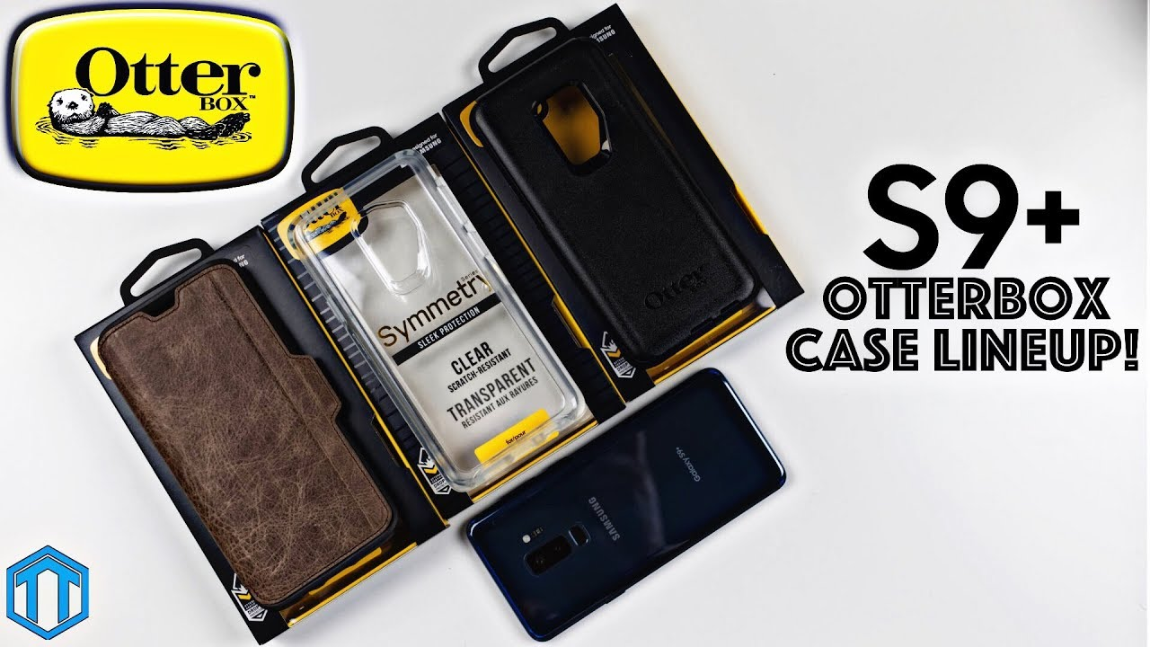 meet f0a1b aed83 Samsung Galaxy S9 Plus Otterbox Case Lineup Review!