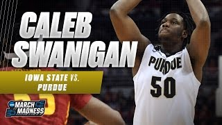 Purdue's Caleb Swanigan nabs double-double in win over Iowa State