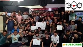 Kargil students stronly condemned against terrorist attack in iran#KBH JAMMU