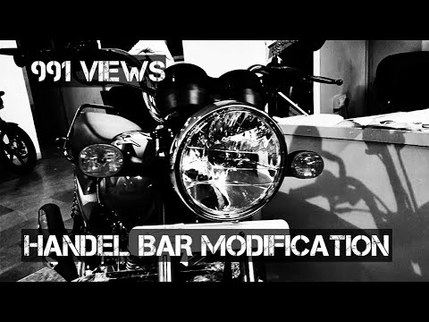 BAJAJ CT 100B HANDEL BAR MODIFICATION