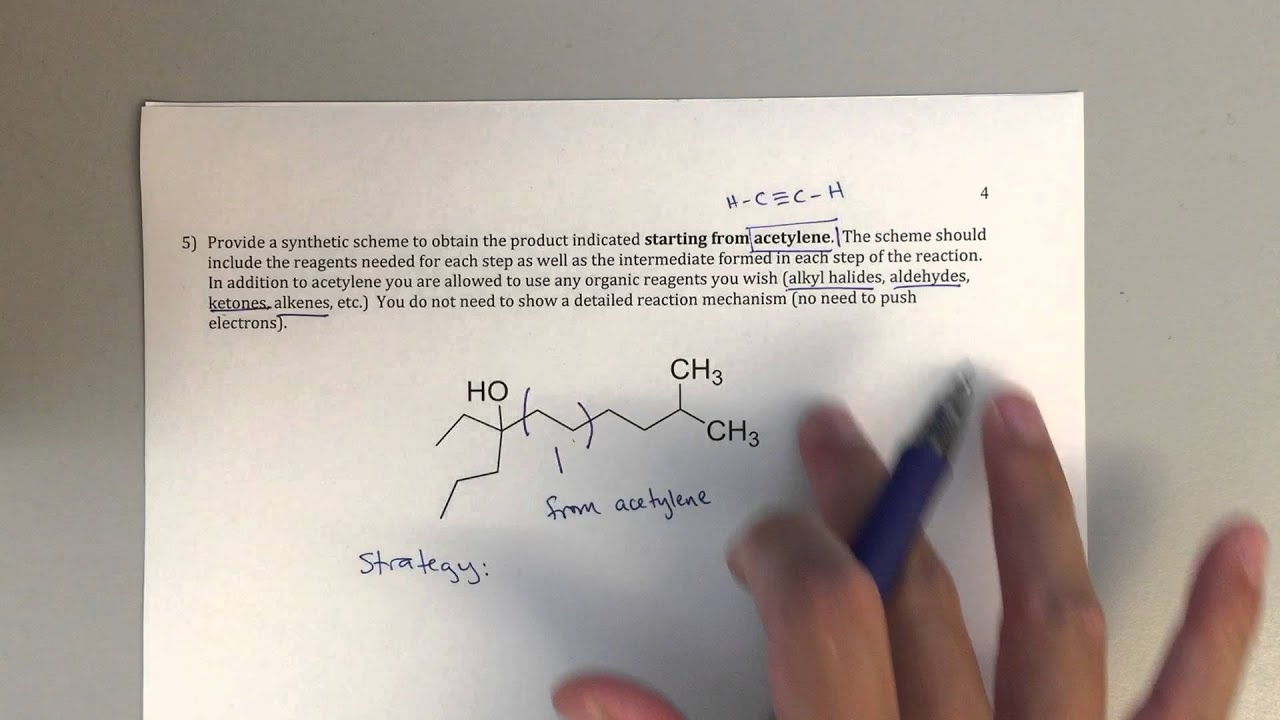 organic retrosynthesis problems Organic synthesis and carbon-carbon bond forming reactions 1 to introduce basic concepts of organic synthesis: retrosynthesis – thinking backwards from relatively complex molecules to simpler ones – the disconnection approach.
