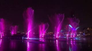 Dubai Festival City - Light & Water Show 2018