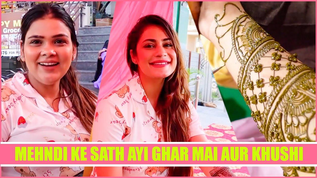 Mehndi ke sath ayi ghar mai aur khushi | Armaan Malik | family fitness