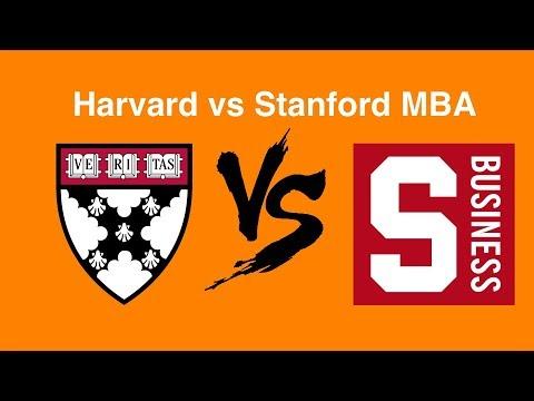 Harvard vs  Stanford - MBA Admit