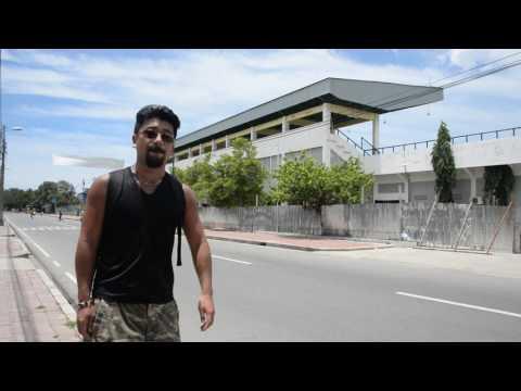 アキーラさん散策⑥東ティモール・ディリ・スタジアム近く!Near stadium in Dili in East Timor