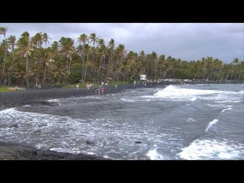 Punalu'u Black Sand Beach Park, Hawaii: Super Beaches Hawaii