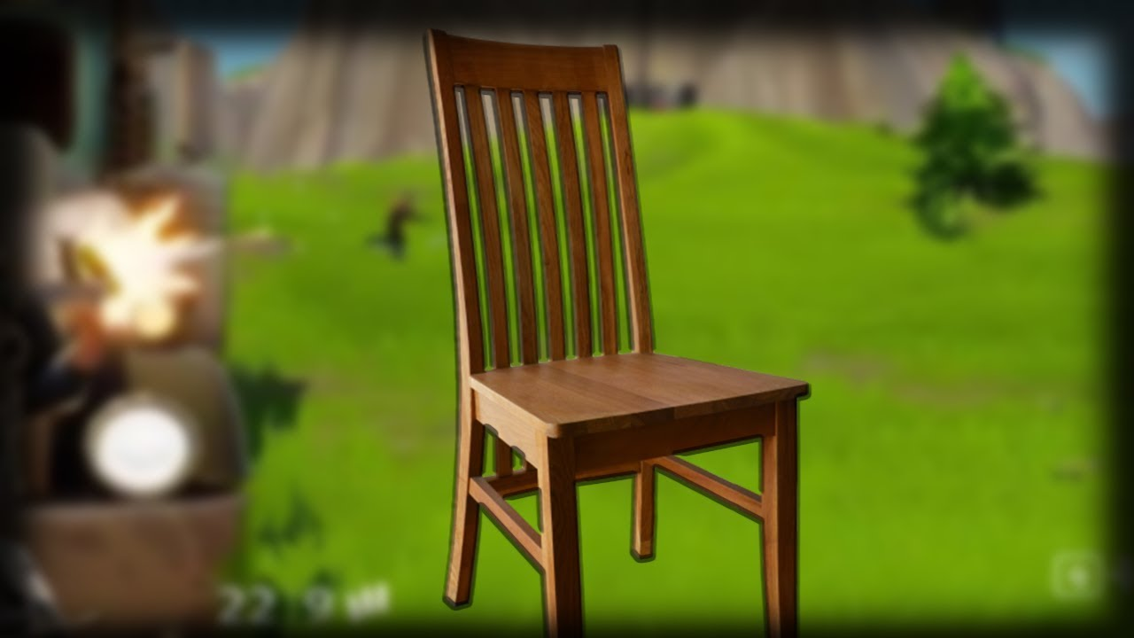 Someone built a chair in fortnite building a chair in for Chair in fortnite