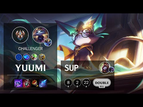 Yuumi Support vs Lulu - EUW Challenger Patch 10.16