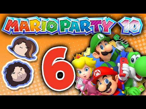 Mario Party 10: Highway Robbery - PART 6 - Game Grumps VS