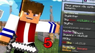 5 Melhores Servidores de SkyWars Minecraft PE 0.15.10