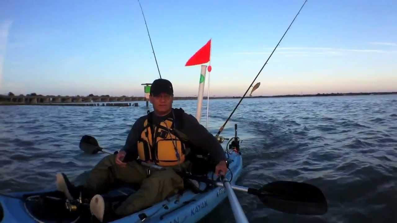 Kayak Electric Trolling Motor Mount Youtube