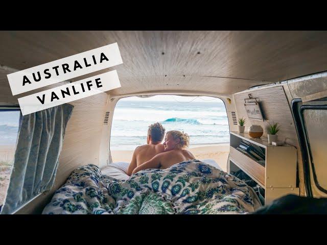 LIVING IN A VAN in Australia | Vanlife, Farmwork and Van Conversion