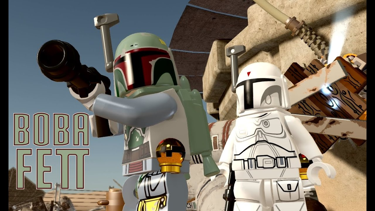 Lego Star Wars The Force Awakens How To Unlock Boba Fett