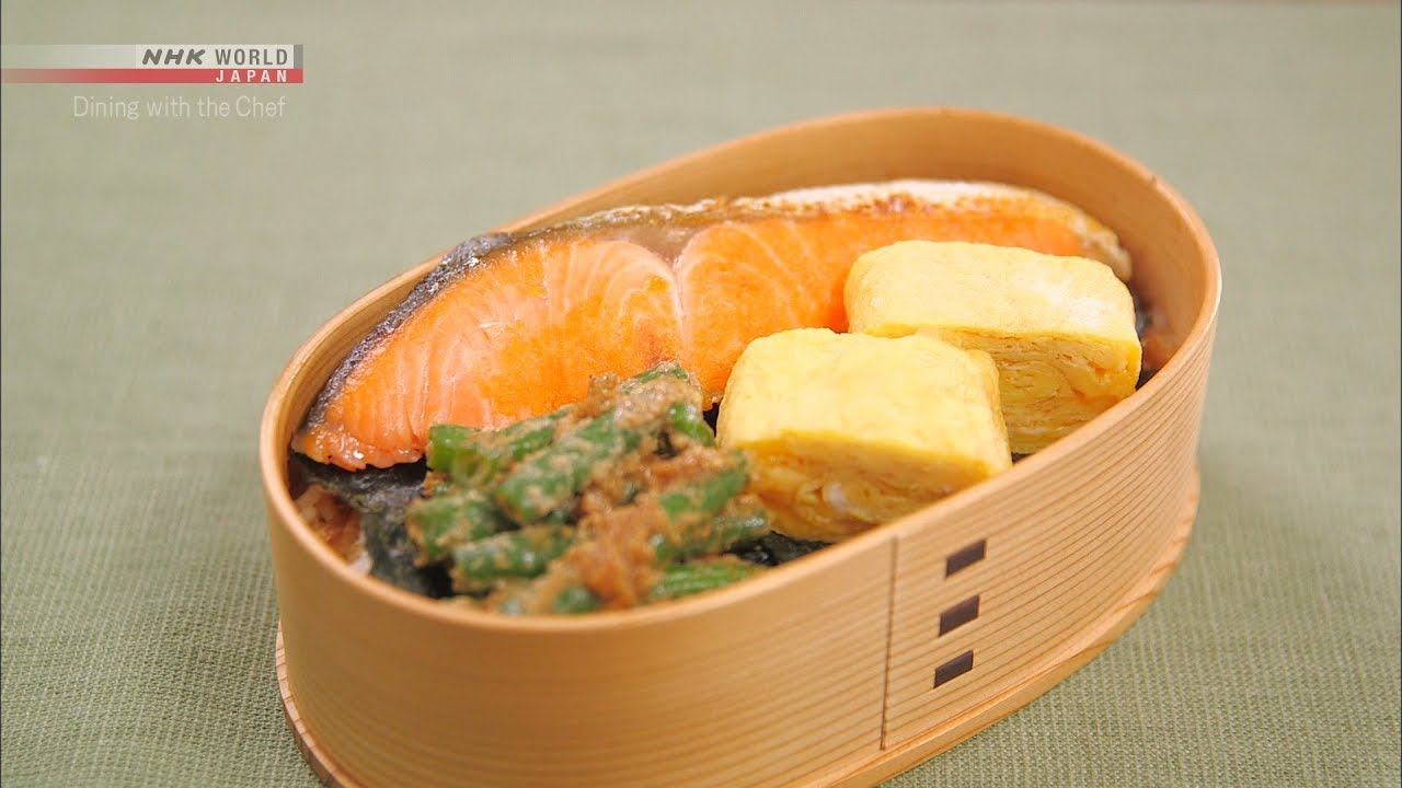Photo of Chef Rika's Classic Nori Bento [Japanese Cooking] – Dining with the Chef – video