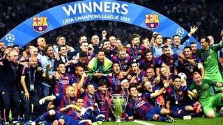 FC Barcelona - Road to Treble 2015 HD