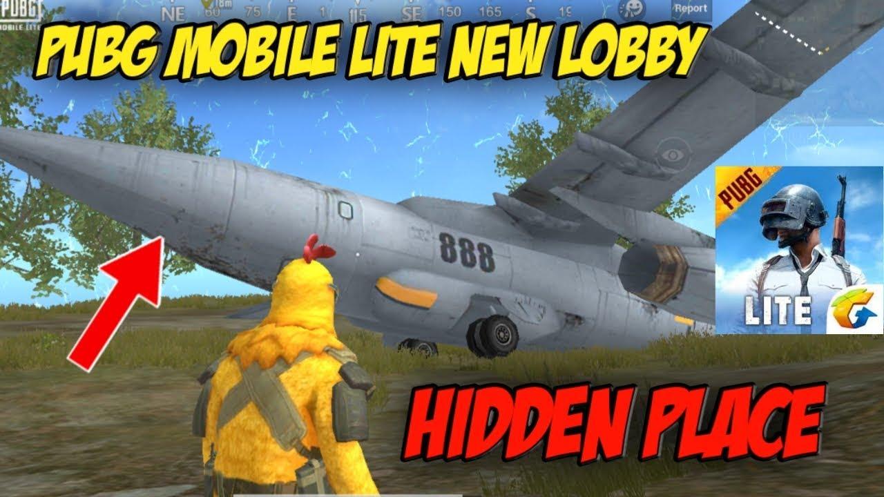 PUBG Mobile Lite - New Lobby Update Secret Location | Hidden Place | PUBG Mobile Lite