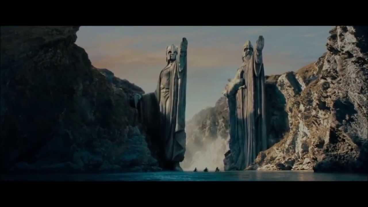 The Argonath – Ted Nasmith