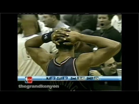 Alonzo Mourning last game as a Net: 16 points vs. Cavs (Dec. 7, 2004)