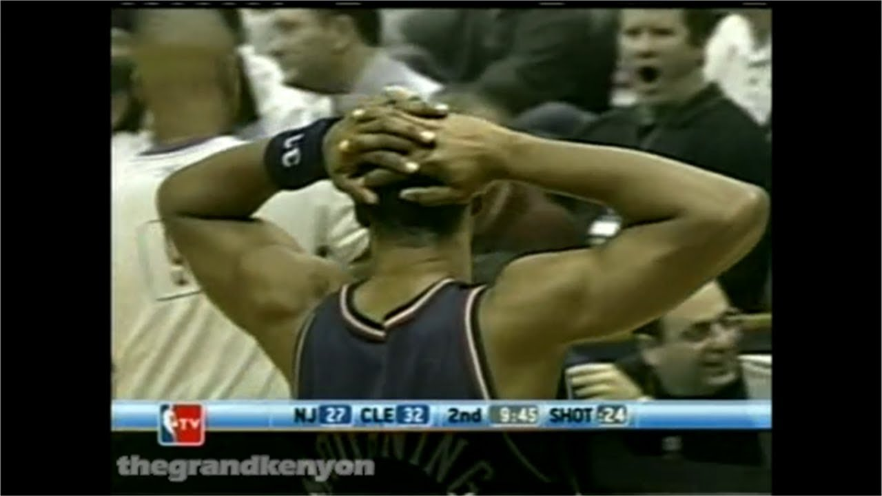 low priced 03d00 f7f81 Alonzo Mourning last game as a Net: 16 points vs. Cavs (Dec. 7, 2004)
