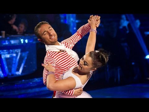 Dani Harmer & Vincent Viennese Waltz to 'That's Amore' - Strictly Come Dancing 2012 - BBC One
