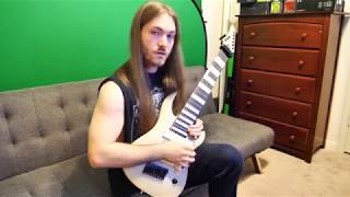 Rings of Saturn - Lucas Mann - Warm Up Legato Shred