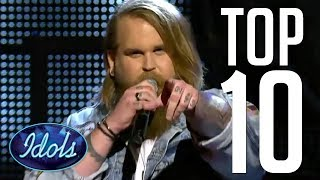 Gambar cover 10 BEST COVERS EVER Chris Kläfford Winner Of Idols 2017 | Idols Global