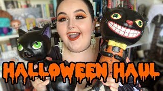 FIRST HALLOWEEN HAUL OF 2018