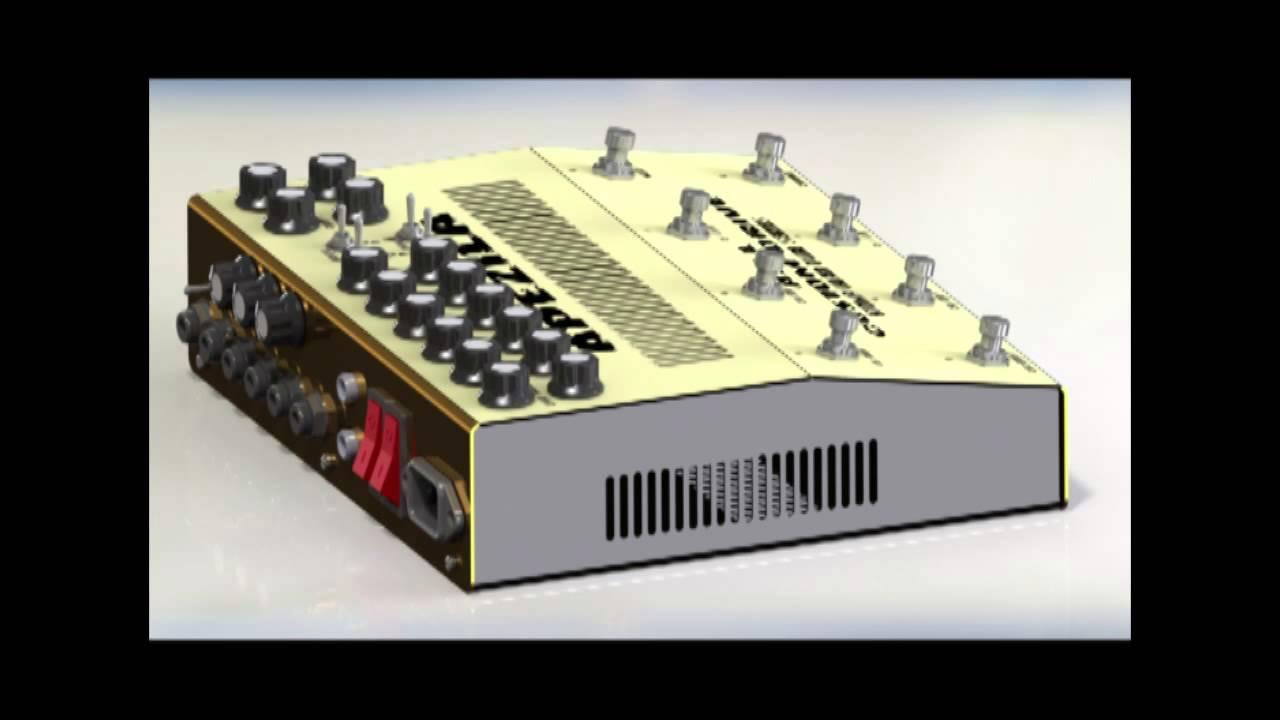 hybrid tube guitar amp in pedal size youtube. Black Bedroom Furniture Sets. Home Design Ideas