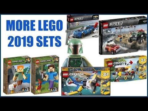 more lego 2019 sets lego minecraft 2019 lego creator. Black Bedroom Furniture Sets. Home Design Ideas