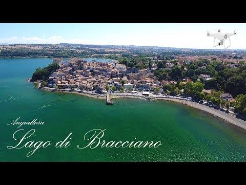 Anguillara Sabazia - Lago di Bracciano - Riprese aeree con il drone