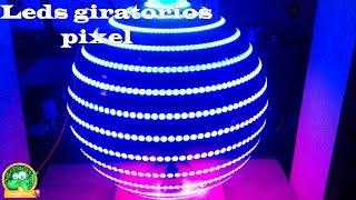 proyecto #53 esfera giratoria pixel ¡¡¡Especial 2k suscriptores¡¡¡