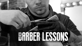 Men's haircut tutorial - Classic cut (The Star Barber Lesson 01)