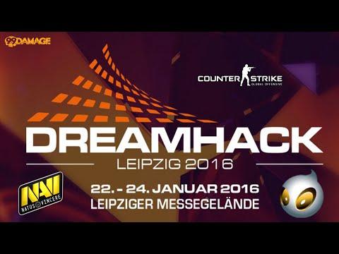Natus Vincere vs. Dignitas | Halbfinale, DreamHack Leipzig 2016 | de_cobblestone Map 1