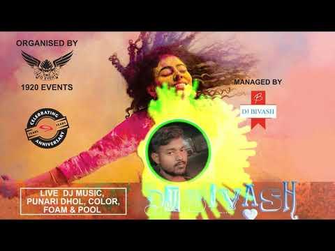 Happy Holi Special Santali Dj 2019   Santali Jhaparpati Mad Dance Mixx Dj Bivash (High Bass)