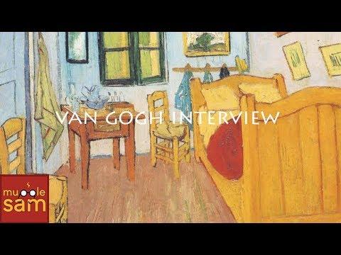 Vincent Van Gogh Interview By 6-Year-Old Sophia⚡️ Mugglesam