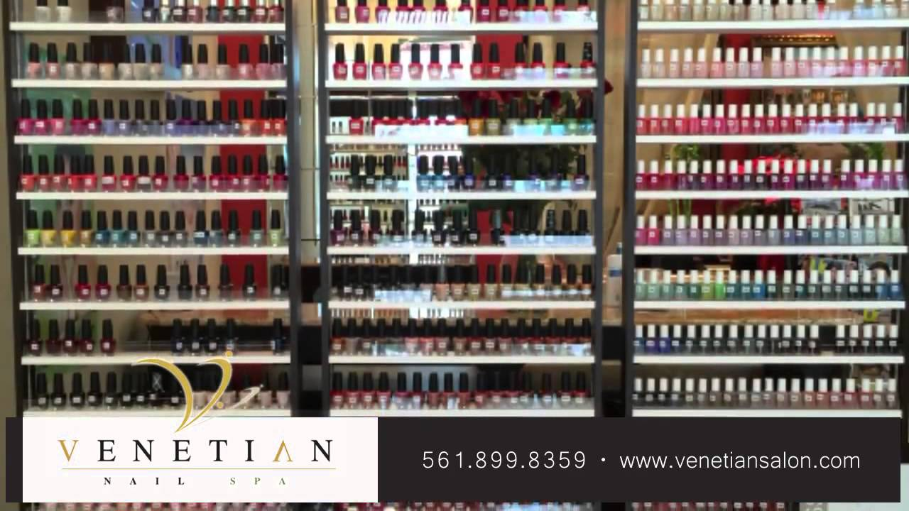 Venetian Nail Spa @ Harbourside Place Nail Care in Jupiter YouTube ...
