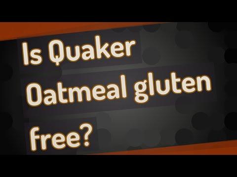Is Quaker Oatmeal gluten free?