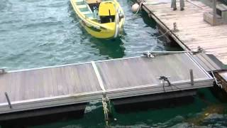 はりゅう船クルーズにいざ出発!!・・・のはずが!?ルネッサンスビーチリゾート沖縄