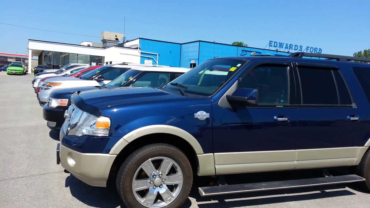 Used cars kingston 2010 ford expedition king ranch edwards ford kingston youtube
